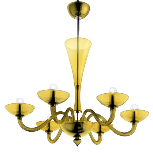 Gaulo Chandelier from Mazzega 1946 | Modern Lighting + Decor