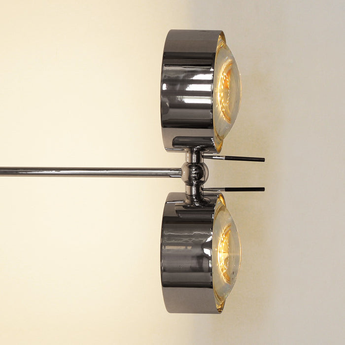 Puk Maxx Side Twin LED Wall Light 10 cm from Top Light | Modern Lighting + Decor
