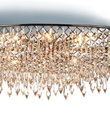 Rain Oval Ceiling Light from Anthologie Quartett | Modern Lighting + Decor