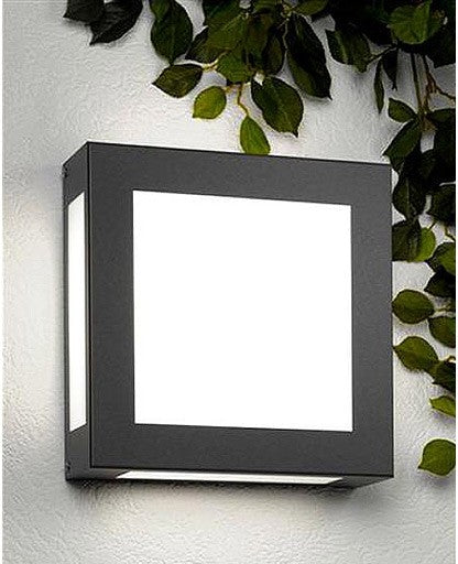 Aqua Legendo Anthracite Outdoor Wall Sconce from CMD | Modern Lighting + Decor