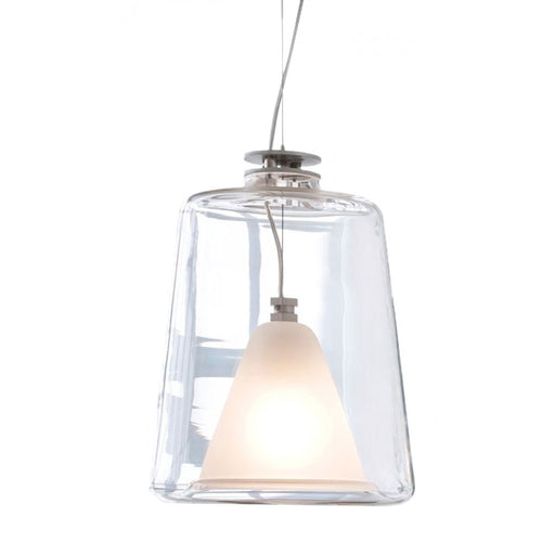 Buy online latest and high quality Lanterna 477 Pendant Light from Oluce | Modern Lighting + Decor