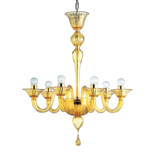 Fegalliano - FEGSOV06 Chandelier from Mazzega 1946 | Modern Lighting + Decor