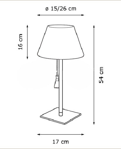 Room 20 Table Lamp from Decor Walther | Modern Lighting + Decor