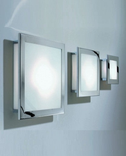 Kubic 20 Wall or Ceiling Light from Decor Walther | Modern Lighting + Decor