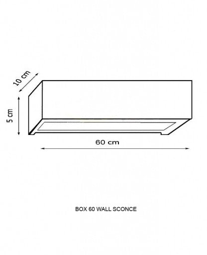 Box 60 Wall Sconce from Decor Walther | Modern Lighting + Decor