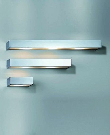 Buy online latest and high quality Box 60 Wall Sconce/Chrome - Inventory Sale!! from Decor Walther | Modern Lighting + Decor