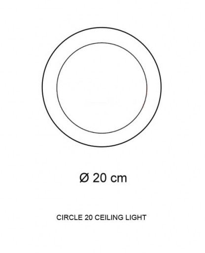 Buy online latest and high quality Circle 20 Ceiling Light from Decor Walther | Modern Lighting + Decor