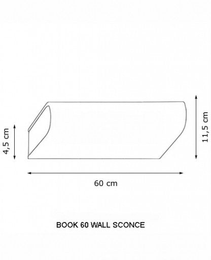 Buy online latest and high quality Book 60 Wall Sconce from Decor Walther | Modern Lighting + Decor