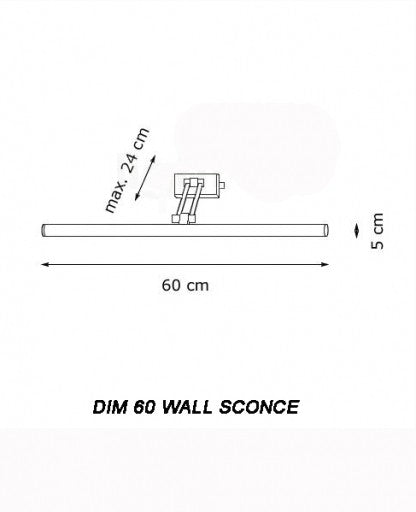 Buy online latest and high quality Dim 60 Wall Sconce from Decor Walther | Modern Lighting + Decor