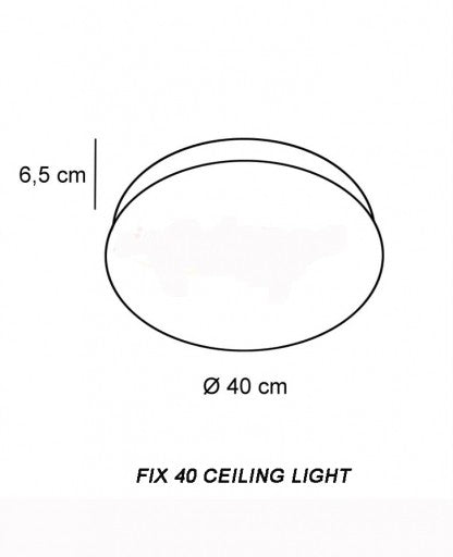 Buy online latest and high quality Fix 40 Ceiling Light from Decor Walther | Modern Lighting + Decor