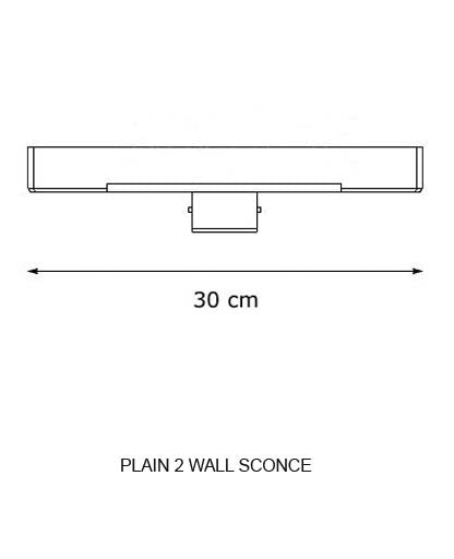 Buy online latest and high quality Plain 2 Wall Sconce from Decor Walther | Modern Lighting + Decor