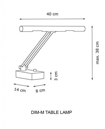 Dim-M Table Lamp from Decor Walther | Modern Lighting + Decor