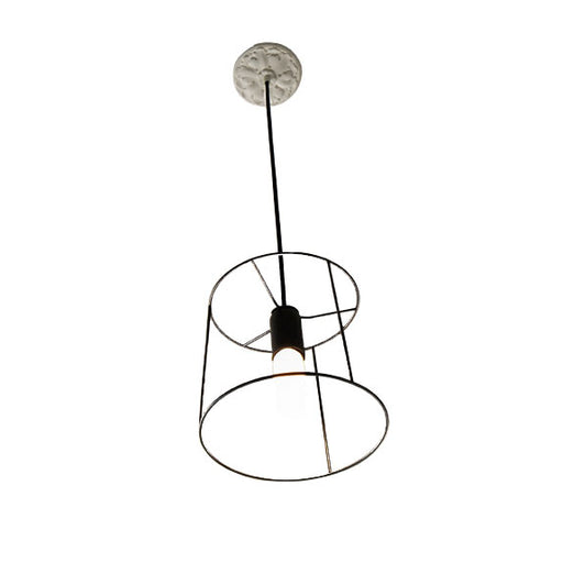 Ideastuccotelaio 20/SO Round Pendant Lamp from Vesoi | Modern Lighting + Decor