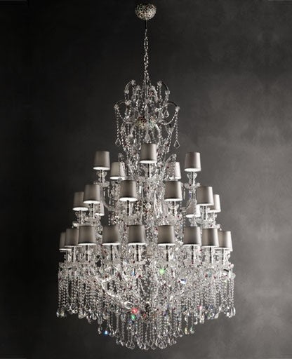 Buy online latest and high quality Aqaba/35+15 Chandelier from Masiero Luxury | Modern Lighting + Decor