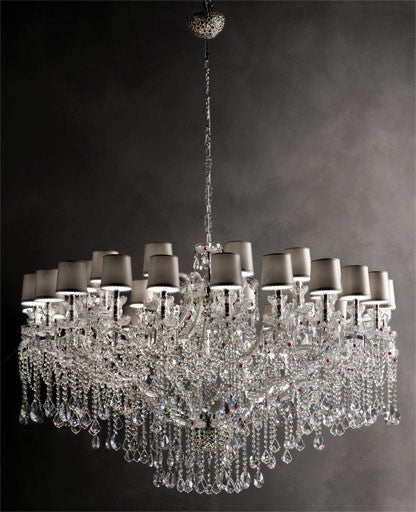 Aqaba/36+12 Chandelier from Masiero Luxury | Modern Lighting + Decor
