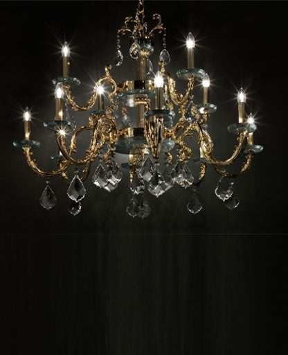 Eternity Guatemala Chandelier from Masiero Luxury | Modern Lighting + Decor