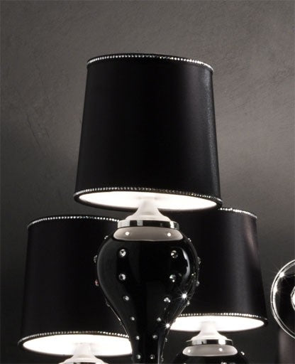 Buy online latest and high quality Black Grace Chandelier from Masiero Luxury | Modern Lighting + Decor