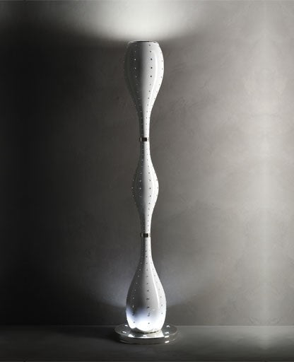 White Grace Floor Lamp from Masiero Luxury | Modern Lighting + Decor