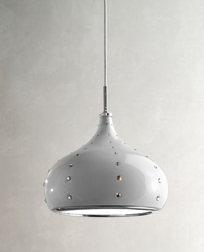 White Grace Pendant Light from Masiero Luxury | Modern Lighting + Decor