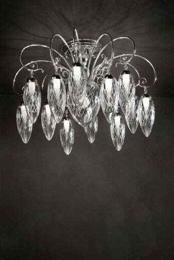 Magnifica Ceiling Light from Masiero Luxury | Modern Lighting + Decor