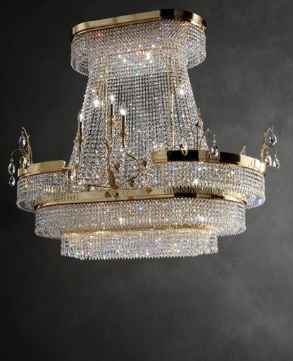 Noah chandelier from Masiero Luxury | Modern Lighting + Decor
