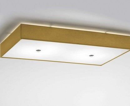 Rettangolo Slim Ceiling Light from Modoluce | Modern Lighting + Decor