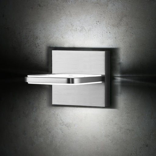 Buy online latest and high quality Wega Square 1 Light Bathroom Vanity Light from Holtkotter | Modern Lighting + Decor