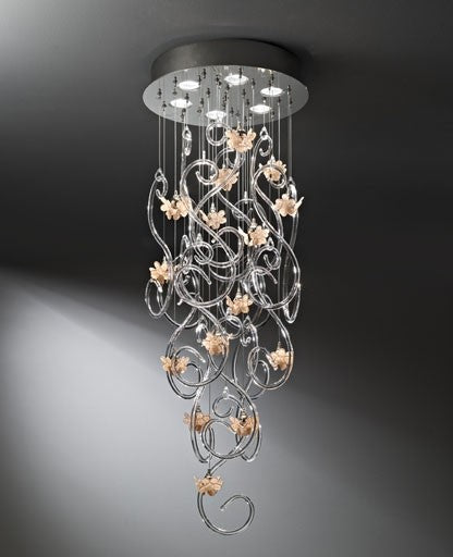 Buy online latest and high quality 2201 Chandelier from ITALAMP | Modern Lighting + Decor