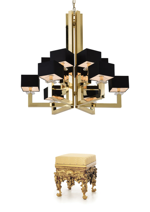 Buy online latest and high quality Swinging Ballet 12 Chandelier from Ilfari | Modern Lighting + Decor