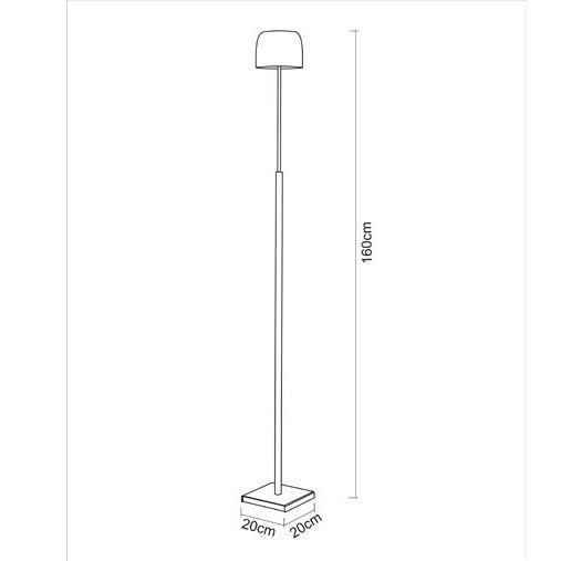 Buy online latest and high quality Sir Henry Floor Lamp from Escale | Modern Lighting + Decor