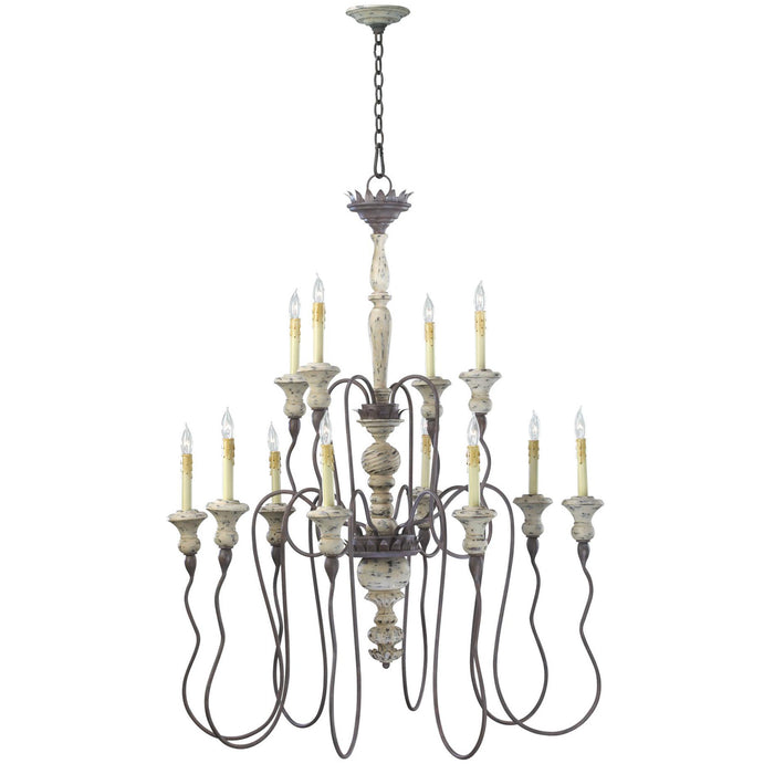 Provence Two Tier Chandelier | Modern Lighting + Decor