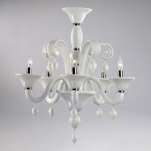 Treviso 5 Light Chandelier | Modern Lighting + Decor