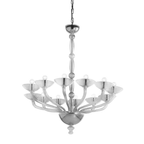 Antenoreo ANTSOV12 Chandelier from Mazzega 1946 | Modern Lighting + Decor
