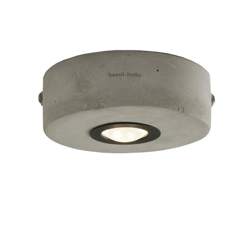 Ideacemento 11/PL  3.7W Ceiling Lamp from Vesoi | Modern Lighting + Decor