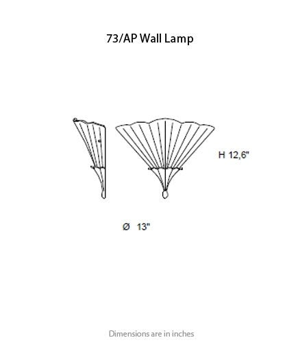 73 Wall Light from ITALAMP | Modern Lighting + Decor