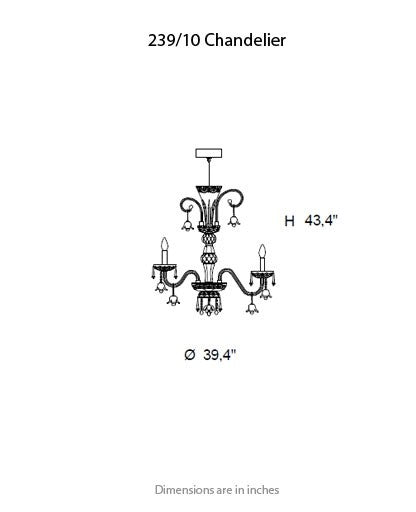 Buy online latest and high quality 239 Chandelier from ITALAMP | Modern Lighting + Decor