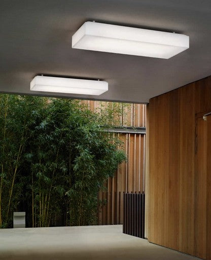 Saponetta Wall/Ceiling Light from Modoluce | Modern Lighting + Decor