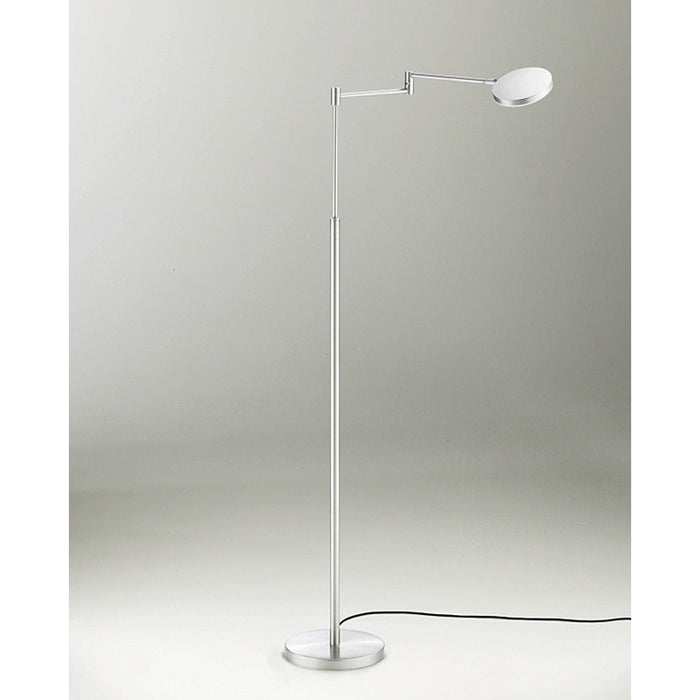 Buy online latest and high quality Glanz Swing Arm Floor Lamp from Holtkotter | Modern Lighting + Decor