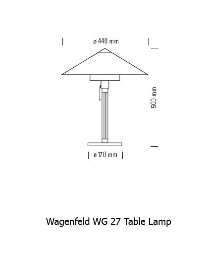 Wagenfeld WG 27 Table Lamp from Tecnolumen | Modern Lighting + Decor