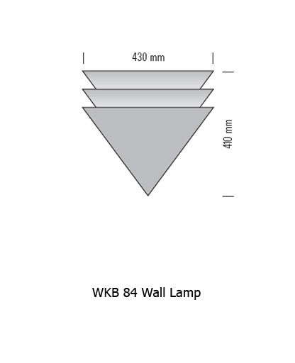 Buy online latest and high quality WKB 84 Wall Lamp from Tecnolumen | Modern Lighting + Decor