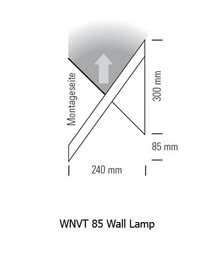 WNVT 85 Wall Lamp from Tecnolumen | Modern Lighting + Decor