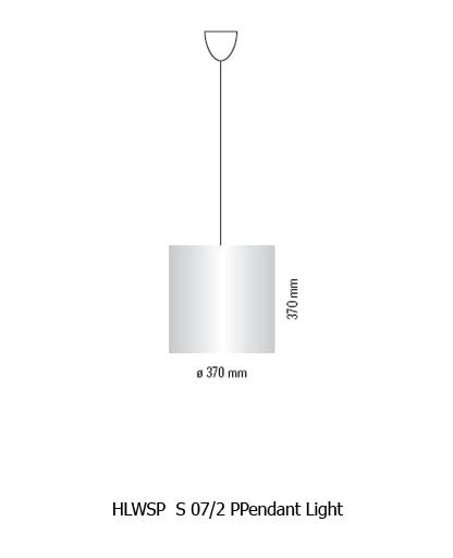 HLWSP  S 07/2 PPendant Light from Tecnolumen | Modern Lighting + Decor