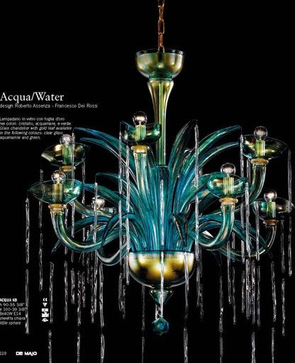 Acqua K8 Chandelier from De Majo | Modern Lighting + Decor