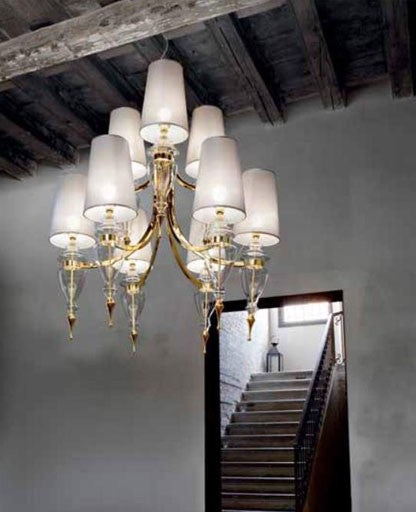 T410 Majestic Chandelier from ITALAMP | Modern Lighting + Decor
