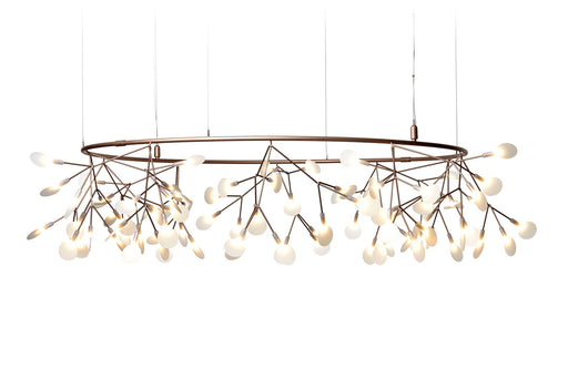 Buy online latest and high quality Heracleum Small Big O Chandelier from Moooi | Modern Lighting + Decor