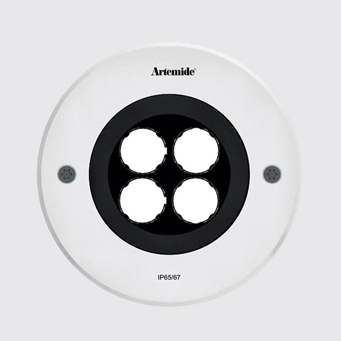 Buy online latest and high quality Ego 150 Wall Wash Outdoor Round Ceiling Downlight from Artemide | Modern Lighting + Decor