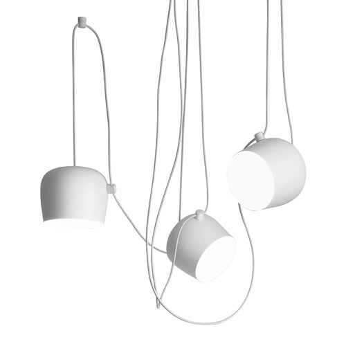Aim Pendant Light - Set of 3 with Multicanopy from Flos | Modern Lighting + Decor