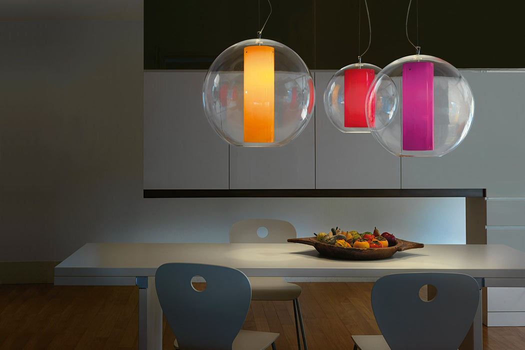 Bolla Acrylic Large Pendant from Modoluce | Modern Lighting + Decor