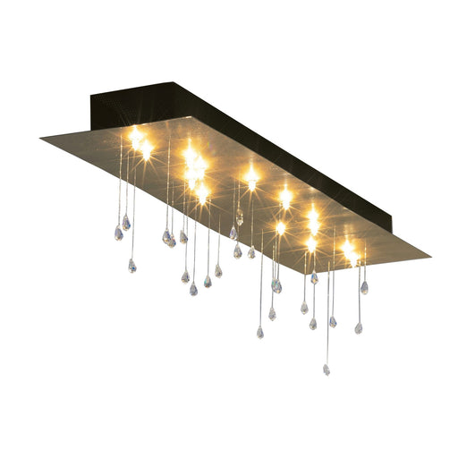 Buy online latest and high quality Crystal Rain Rectangular Ceiling Light from Escale | Modern Lighting + Decor