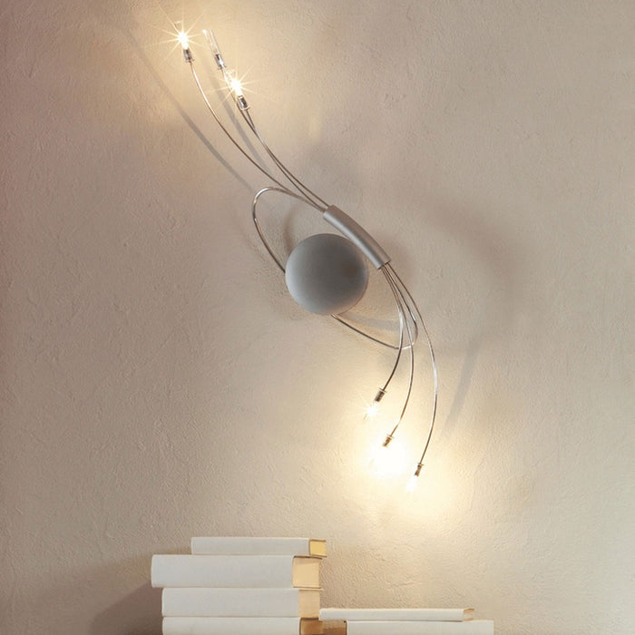 Spin 6 Wall Sconce from Escale | Modern Lighting + Decor